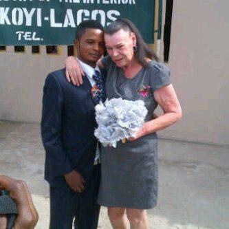 Nigerian boy marries white grandmother