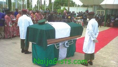 ojukwu burial