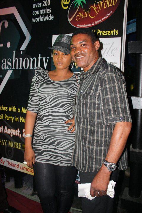 omotola jalade and husband captain ekeinde