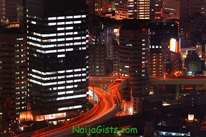 gate tower building osaka japan