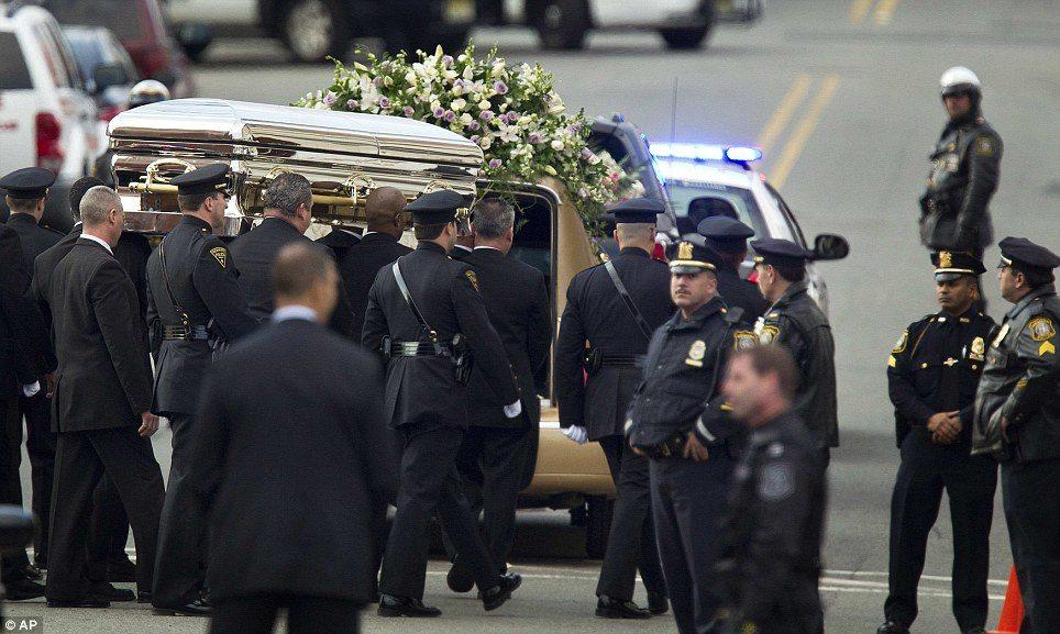 whitney houston casket