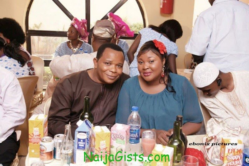 Ireti Osayemi Bakare and husband 2