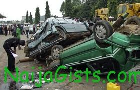 accident in sagamu expressway on thursday
