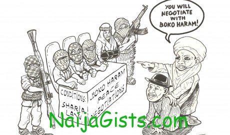 negotiate with boko haram