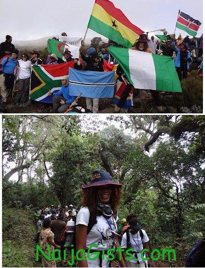 funmi iyanda mount kilimanjaro
