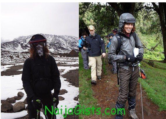 funmi iyanda mountain kilimanjaro