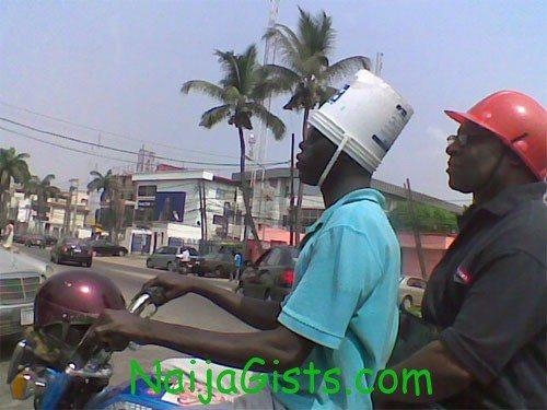 nigerian bike helmet www.naijagists.com