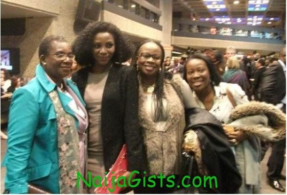 Genevieve nnaji and mother