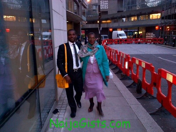 genevieve-nnaji-mum-and-brother