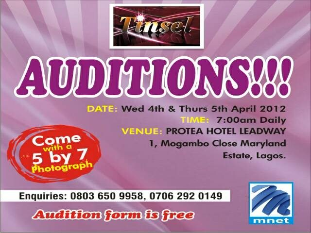 latest nollywood nigerian movie auditions in nigeria