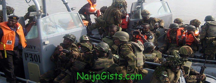 oil thieves niger delta