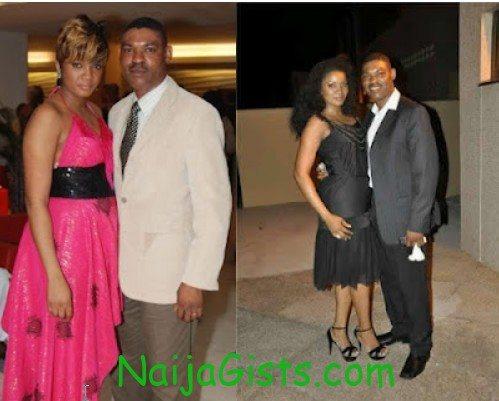 omotola jalade and husband wedding anniversary