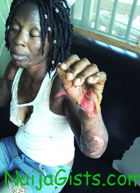 police inspector sets wife ablaze in lagos
