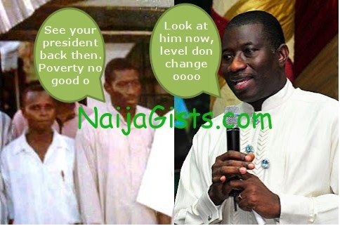 president goodluck jonathan back in the days 2
