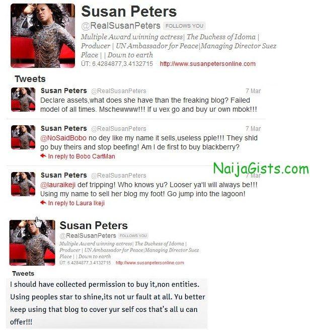 susan peter linda ikeji twitter rants