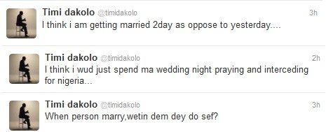 timi dakolo getting married
