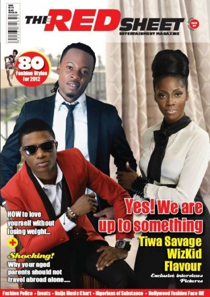 tiwa savage wizkid and flavour nabania