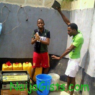 turn water into petrol nigeria