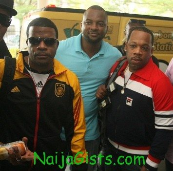 bobby brown and new edition crew in lagos nigeria