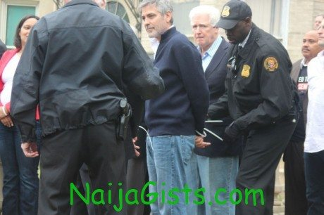 george Clooney and father arrested