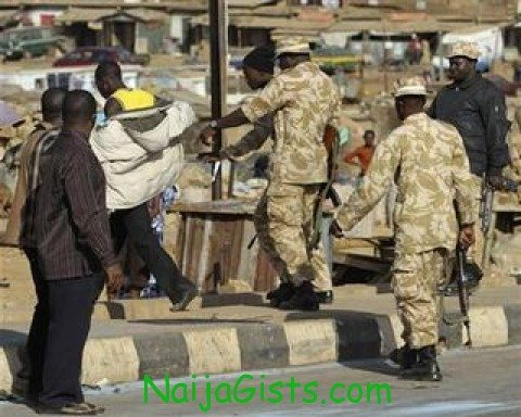 nigerian soldiers murdered 10 youth protesters in jos