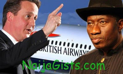 british government threatens Nigeria