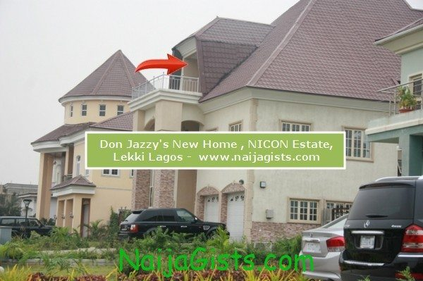 don jazzy new home lekki lagos