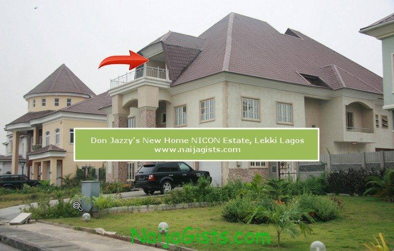 don jazzy new home in nicon estate lekki lagos
