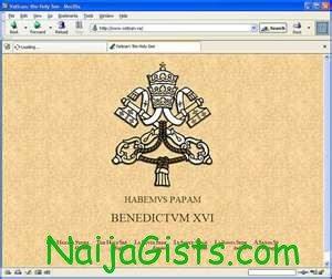 hackers hack vatican website