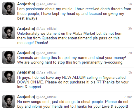 messages from asa to fans