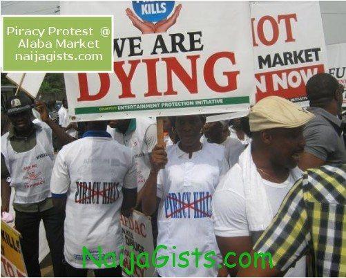 movie piracy protest in nigeria 2012