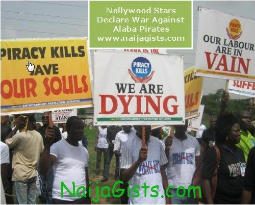 nollywood against piracy at alaba