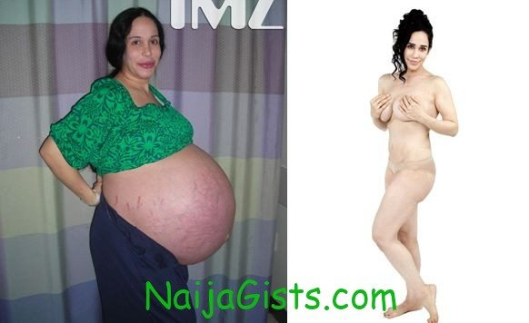 octomom post baby body