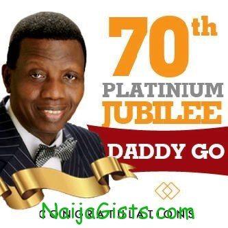 Pastor Adeboye Turns 70 Today