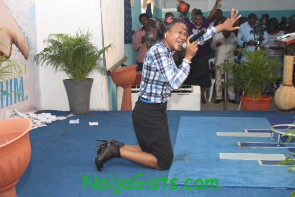 sumbo ajaba ministering in church