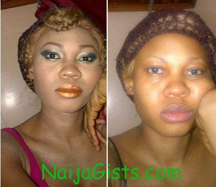 goldie without make up