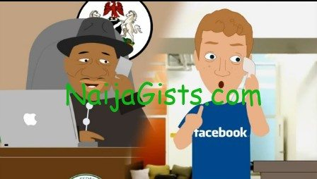 jonathan goodluck and mark facebook comedy