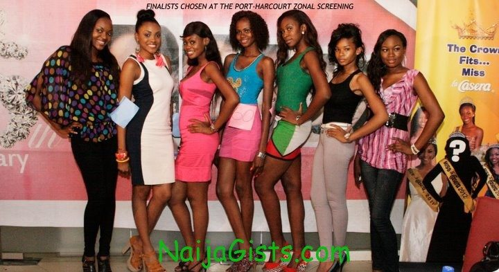 most beautiful girls in nigeria finalists 2012