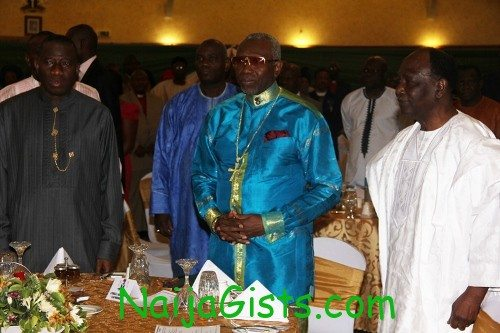 national presidential prayer breakfast programme in abuja