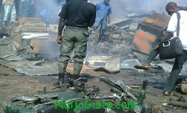 Bayero university boko haram bomb