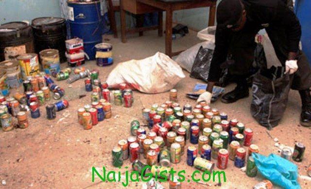 boko haram bomb factory in adamawa