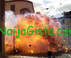 bomb blast in jos plateau nigeria