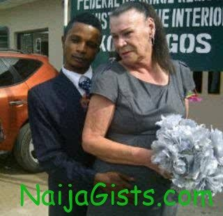 nigerian men and grandmother bride