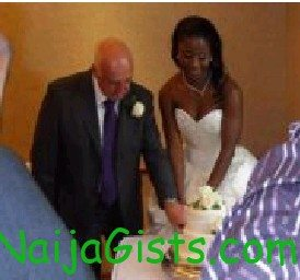 27 year old nigerian woman marries oyinbo grandpa in london
