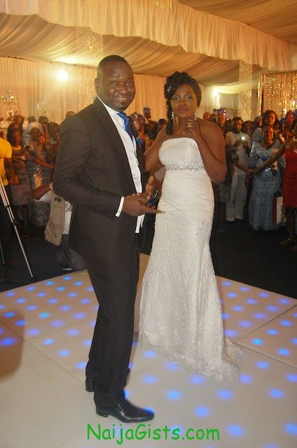 funke akindele church wedding