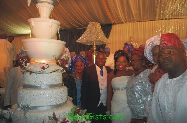 funke akindele church wedding ceremony