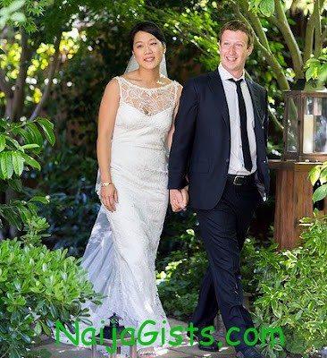 facebook founder mark zuckerberg marries girlfriend priscilla chan 3
