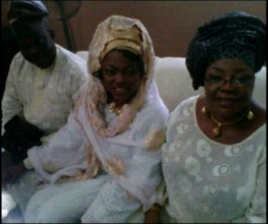 funke akindele parent