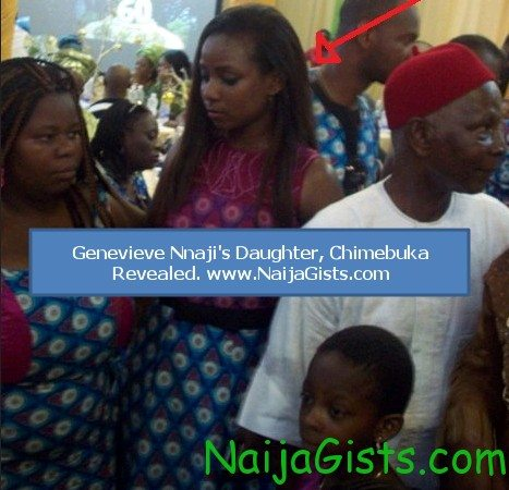 genevieve nnaji's daughter photo chimebuka