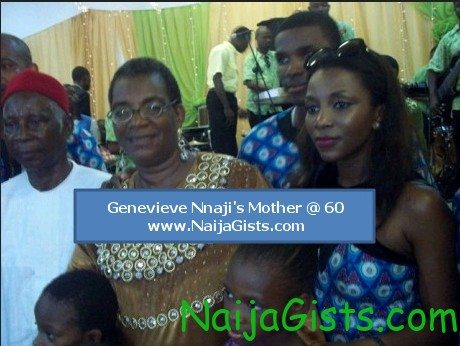 genevieve nnaji mother Benedatte Nnaji